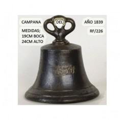 Campana año 1839