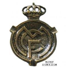 Escudo Real Madrid Patina