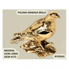 Paloma Grabada Brillo